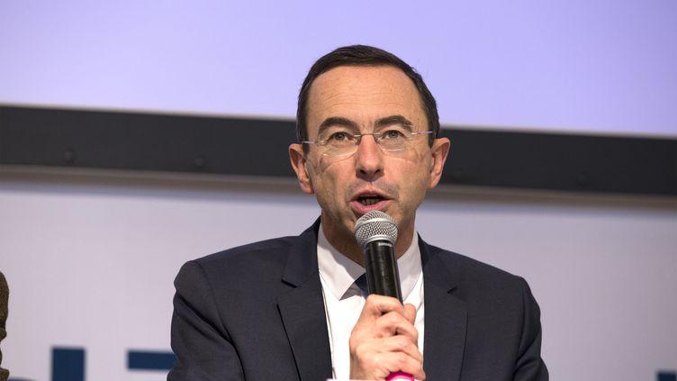 Le patron des sénateurs UMP, Bruno Retailleau, le 9 décembre 2014 à Paris. (JEAN MARIE LIOT / AFP)