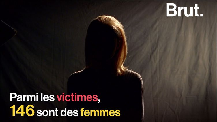 VIDEO. Féminicides: en 2019, 146 femmes ont été tuées par leur conjoint ou ex (BRUT)