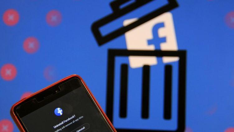 Le scandale Cambridge Analyticaa décidédes utilisateurs de Facebook à quitter le réseau social. (NASIR KACHROO / NURPHOTO)