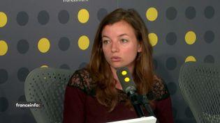 Laetitia Vasseur,co-fondatrice et déléguée générale de la fondation Hop (Halte à l'obsolescence programmée), sur franceinfo mercredi 5 juin. (FRANCEINFO)