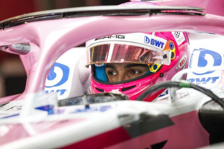 Esteban Ocon (FRA/Force India) s'est élancé de la septième place. (FLORENT GOODEN / DPPI MEDIA)