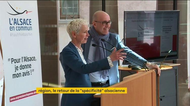 Les départements du Haut-Rhin et du Bas-Rhin ont fusionné (FRANCEINFO)