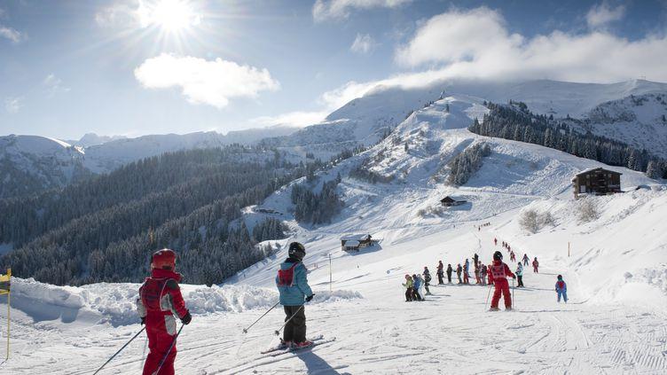 Le domaine skiable de Samoëns (Haute-Savoie). (GILLES LANSARD / PHOTONONSTOP)
