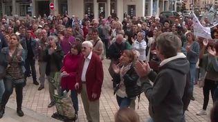 Une manifestation anti-vaccin ce samedi 17 juillet (France 3)