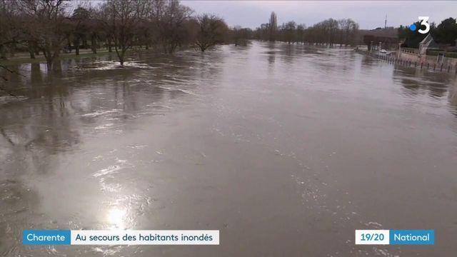 Intempéries : crue exceptionnelle en Charente