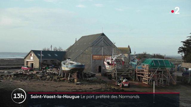 Manche : Saint-Vaast-la-Hougue, un port typique du Cotentin