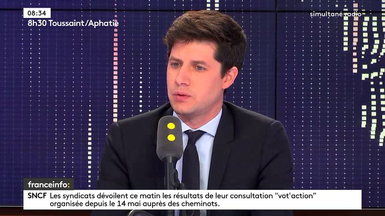 Julien Denormandie,secrétaire d'État auprès du ministre de la Cohésion des territoires (FRANCEINFO / RADIOFRANCE)