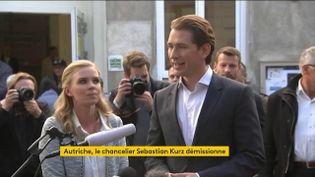 Autriche : soupçonné dans une affaire de corruption, le chancelier Sebastian Kurz démissionne (FRANCEINFO)
