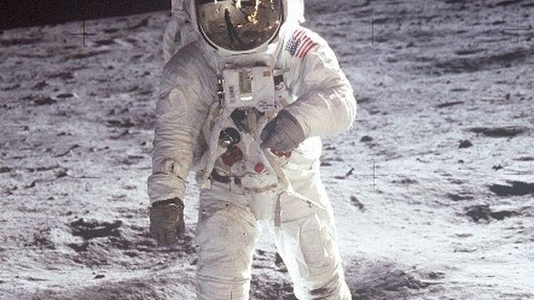 Un astronaute américain sur la Lune, en août 1971, durant la mission Apollo 15. (NASA)