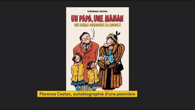 Bande dessinée : Florence Cestac revient avec un ouvrage autobiographique