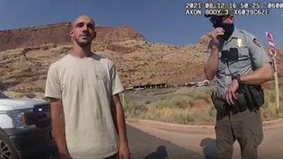 Brian Laundrie, le 12 août 2021 dans l'Etat de l'Utah, après avoir été arrêté par la police pour une histoire de dispute conjugale. (HANDOUT / MOAB CITY POLICE DEPARTMENT)