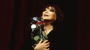 Juliette Greco à l'Olympia en 1993 (JACQUES LOEW / JACQUES LOEW)