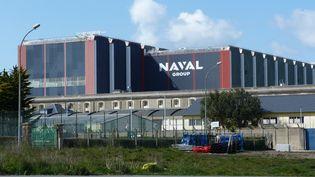 Le site de Naval Group à Cherbourg-en-Cotentin (illustration). (PIERRE COQUELIN / RADIO FRANCE)
