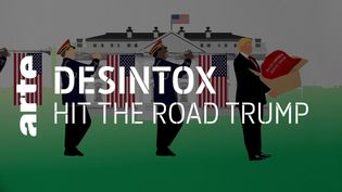 Désintox. États-Unis : non, les militaires n'ont pas joué la chanson « Hit the road, jack » de Ray Charles au départ Donald Trump (ARTE/2P2L)