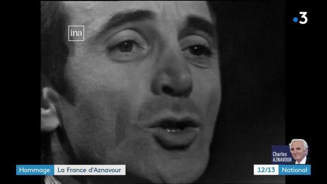 Charles Aznavour : hommage à ses chansons