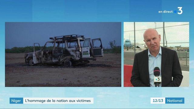 Français tués au Niger : un hommage en présence du Premier ministre