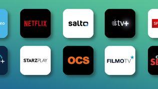 Depuis l'arrivée de Netflix en France, les offres de vidéo à la demandese multiplient. (BAPTISTE BOYER / FRANCEINFO)
