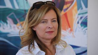 La journaliste et ex-Première dame Valérie Trierweiler à La Rochelle (Charente-Maritime), le 6 juillet 2016. (XAVIER LEOTY / AFP)
