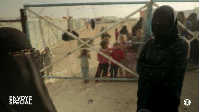 Envoyé spécial. Comment des Françaises femmes de jihadistes enfermées dans un camp en Syrie envisagent leur avenir