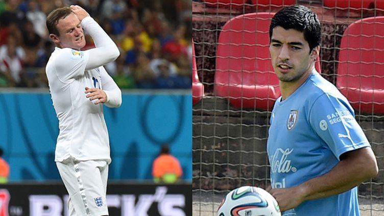 Wayne Ronney et Luis Suarez, les deux atouts offensifs de leur sélection
