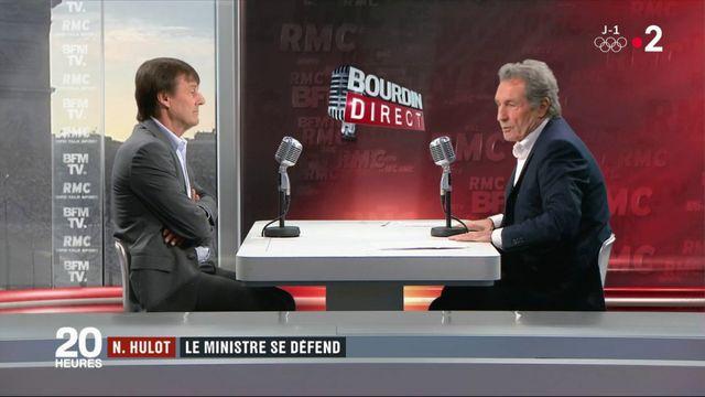 Nicolas Hulot : accusé d'agressions et de harcèlement sexuels, le ministre se défend
