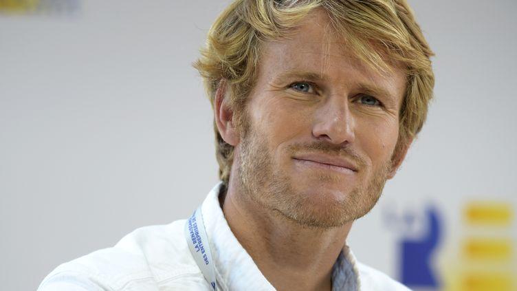 François Gabart, vainqueur du Vendée Globe en 2013 (ERIC PIERMONT / AFP)