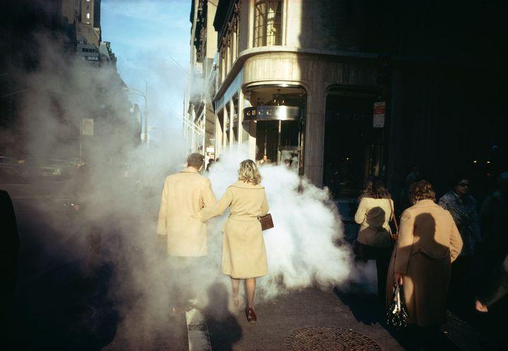 New York City, 1975.  (© Joel Meyerowitz, Courtesy Polka Galerie)