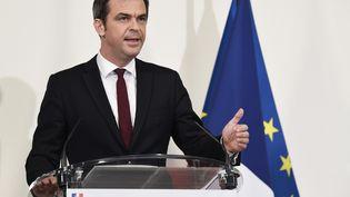Le ministre de la Santé, Olivier Véran, lors d'un point sur la situation sanitaire en France, le 19 novembre 2020. (BERTRAND GUAY / AFP)