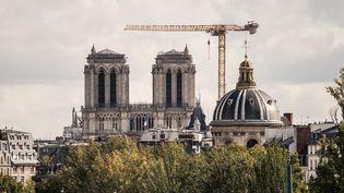 La cathédrale Notre-Dame de Paris le 7 octobre 2020. (XOS? BOUZAS / HANS LUCAS)