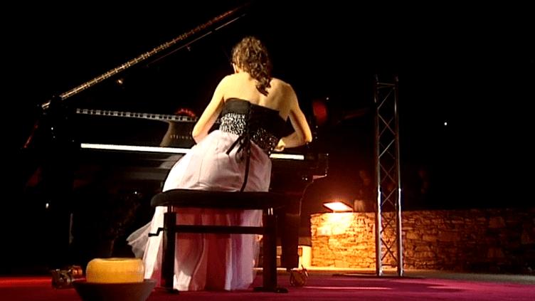 Victoria Kogan a donné un somptueux récital aux Nuits Piano d'Erbalunga  (France3 / Culturebox)