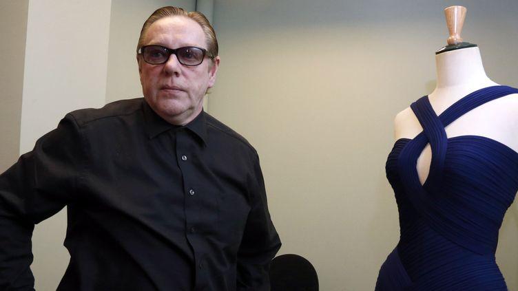 Hervé Léger présente en 2013 sa collection pendant la haute couture parisienne  (PIERRE VERDY / AFP)