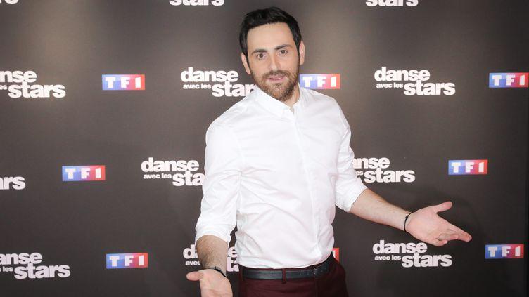 L'animateur de TF1 Camille Combal, le 11 septembre 2018 à Paris. (MAXPPP)