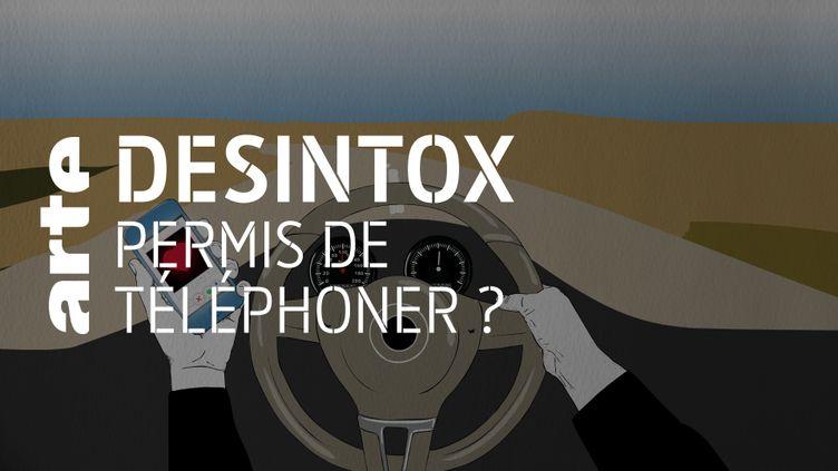 Non, téléphoner au volant n'annulera pas votre permis (ARTE/LIBÉRATION/2P2L)