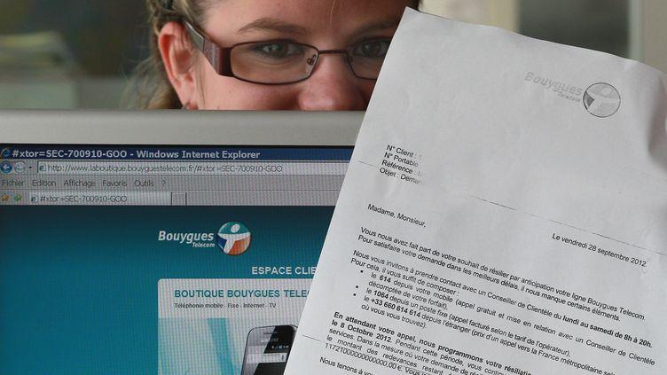Solenne San Josea eu la surprise de recevoir une facture de 11 millions de millions d'euros de la part de Bouygues Telecom. (FABIEN COTTEREAU / SUD OUEST / MAXPPP)