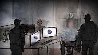 Sécurité : Haurus, l'ex-agent de la DGSI qui a vendu des informations (France 2)
