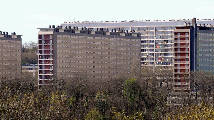 Le quartier du Haut-du-Lièvre, à Nancy, en avril 2012. (ALEXANDRE MARCHI. / MAXPPP)