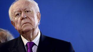 Le maire (UMP) de Marseille Jean-Claude Gaudin le 8 février 2013 à Marseille (Bouches-du-Rhône). (ANNE-CHRISTINE POUJOULAT / AFP)