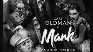 """Affiche du film """"Mank"""", de David Fincher, 2020 (NETFLIX)"""