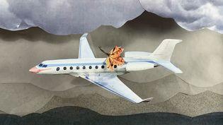 """Un plan du clip d'animation de """"La Chanson de Prévert"""" de Serge Gainsbourg (1961), mis en image par le réalisateur Michel Gondry (CAPTURE D'ÉCRAN YOUTUBE)"""