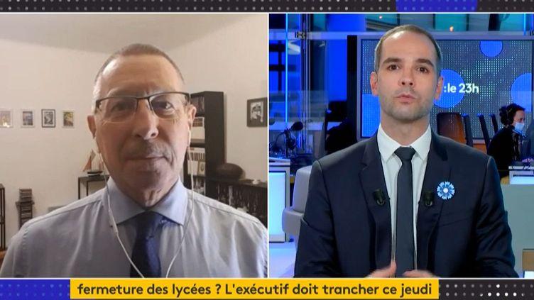 Philippe Vincent (Capture d'écran franceinfo)