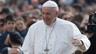 Le papeFrançois estattendu en Egypte vendredi et samedi, moins de trois semaines après lesattentats qui ont visé deux églises du pays. (SILVIA LORE / NURPHOTO / AFP)