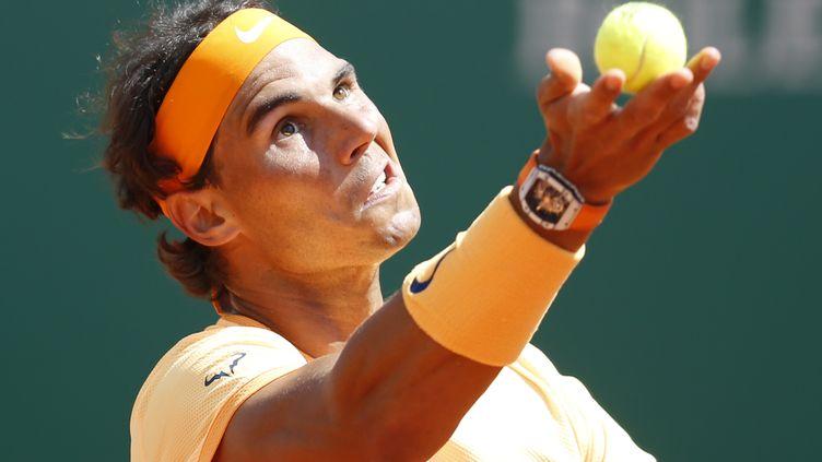 Rafael Nadal, nonuple vainqueur à Monte-Carlo et bientôt à Barcelone ? (VALERY HACHE / AFP)