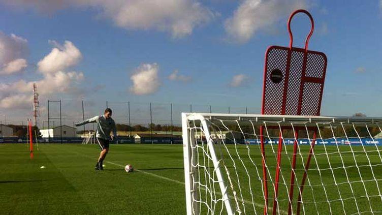 (Zlatan Ibrahimovic de retour à l'entraînement © PSG)