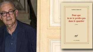 Patrick Modiano, Prix Nobel de littérature 2014  (EPA/MAXPPP)