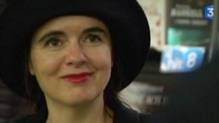 """Amélie Nothomb à Lille à l'occasion de la sortie de son roman, """"Une forme de vie""""  (Culturebox)"""