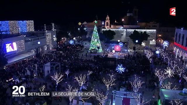 Messe de Noël à Bethléem sous haute surveillance