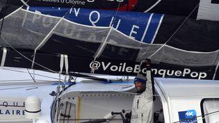 Armel Le Cléac'h vainqueur du Vendée Globe (DAMIEN MEYER / AFP)