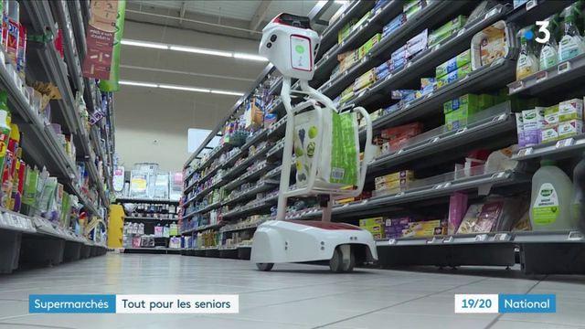 Orne : un supermarché adapté aux seniors à Flers