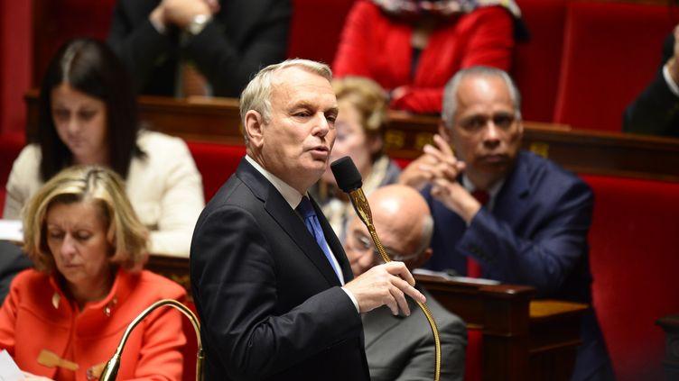 Jean-Marc Ayrault à l'Assemblée nationale,à Paris, le 19 novembre 2013. (ERIC FEFERBERG / AFP)