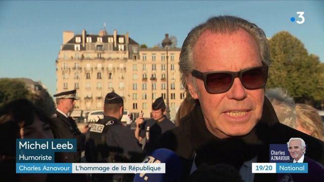 Charles Aznavour : l'hommage de la République